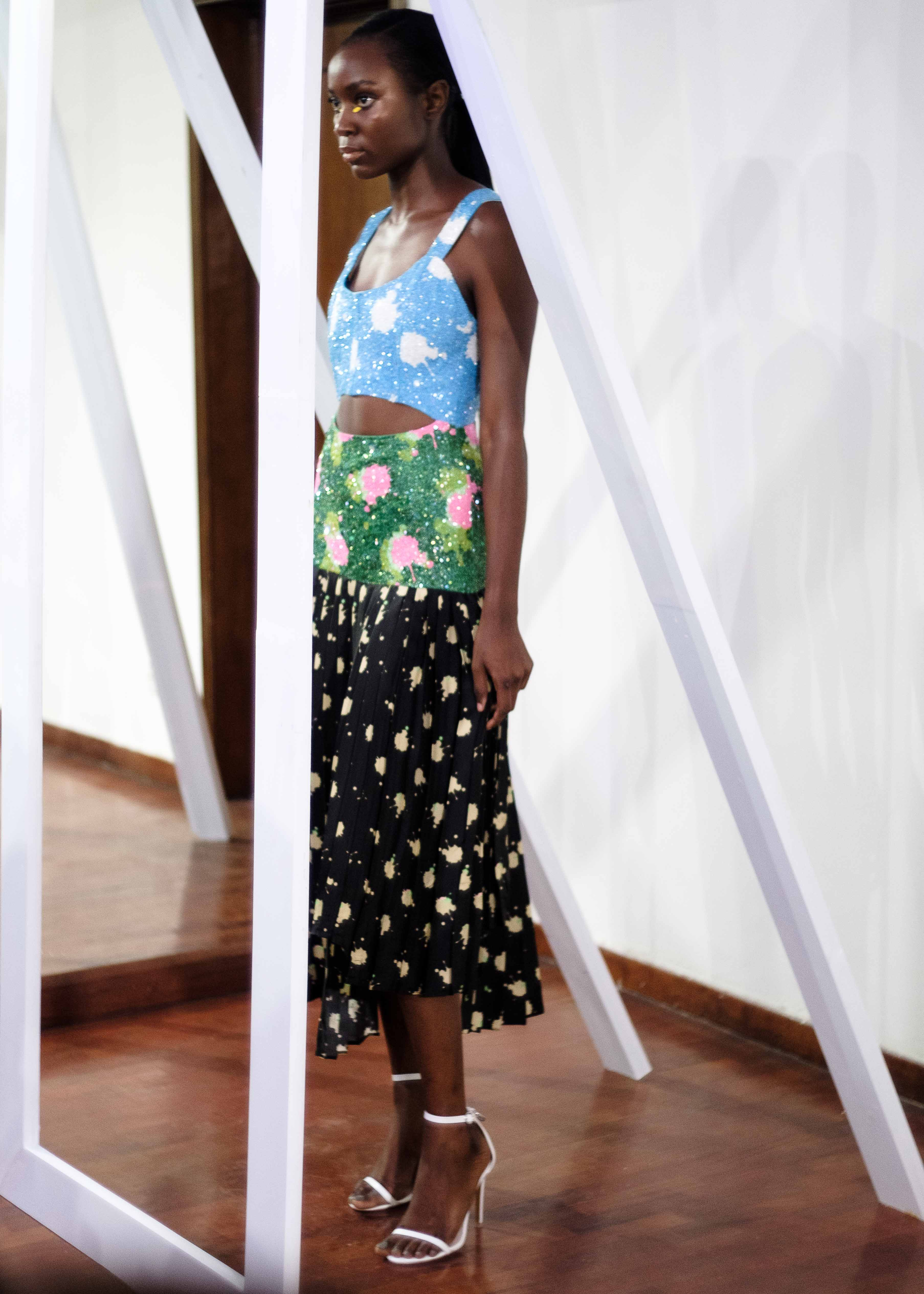 lisa-folawiyo-dress-with-midriff-beading-and-print