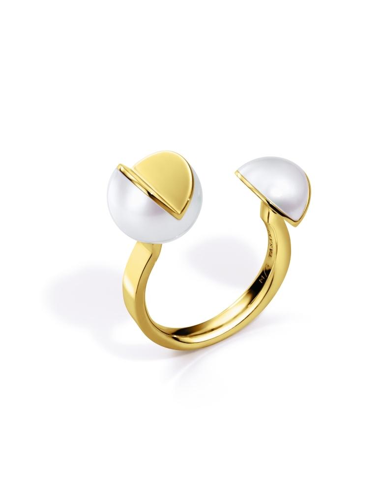 Wedge Ring M/G Tasaki (Image Courtesy of Melanie Georgacopoulos)