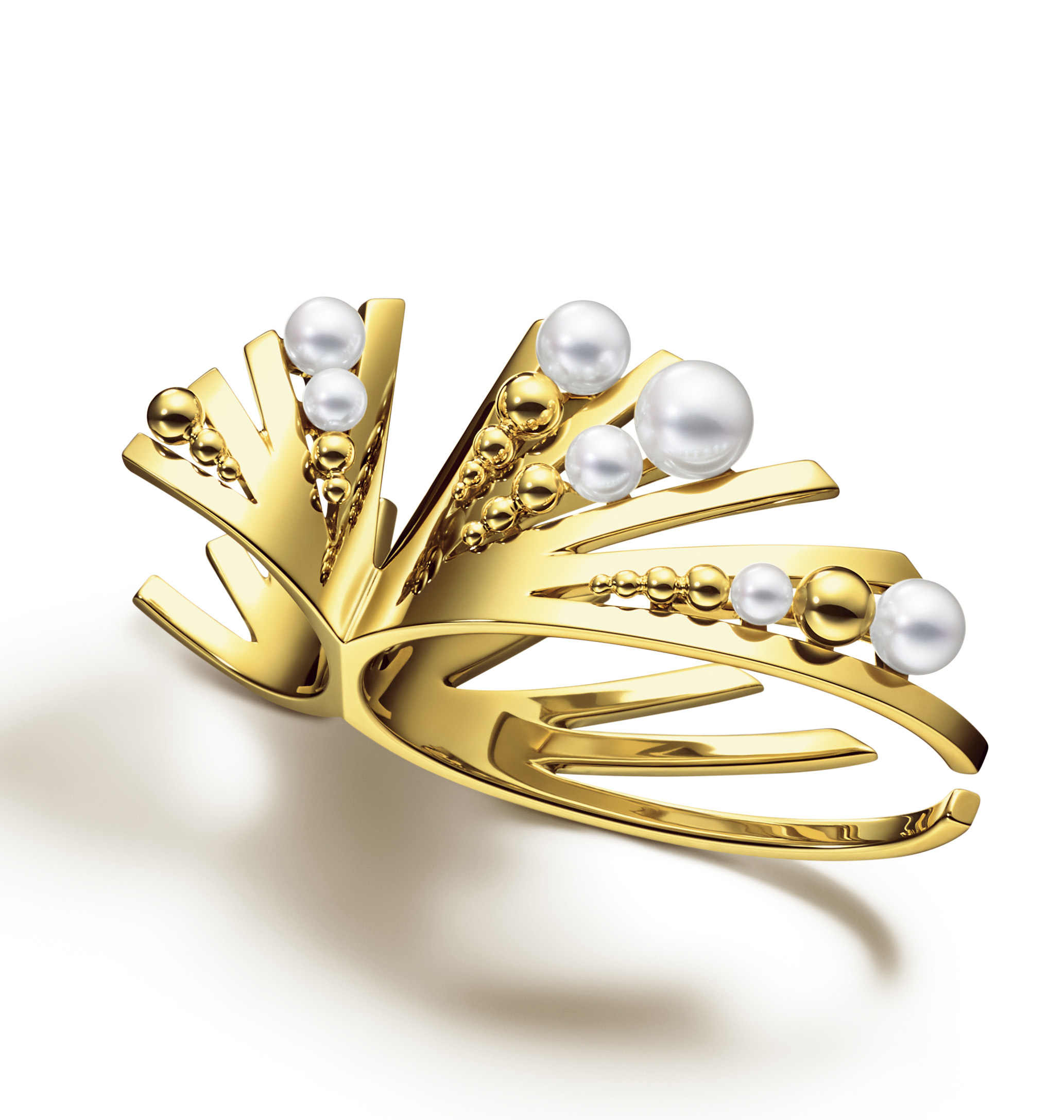 Grain Double Ring M/G Tasaki (Image Courtesy of Melanie Georgacopoulos)