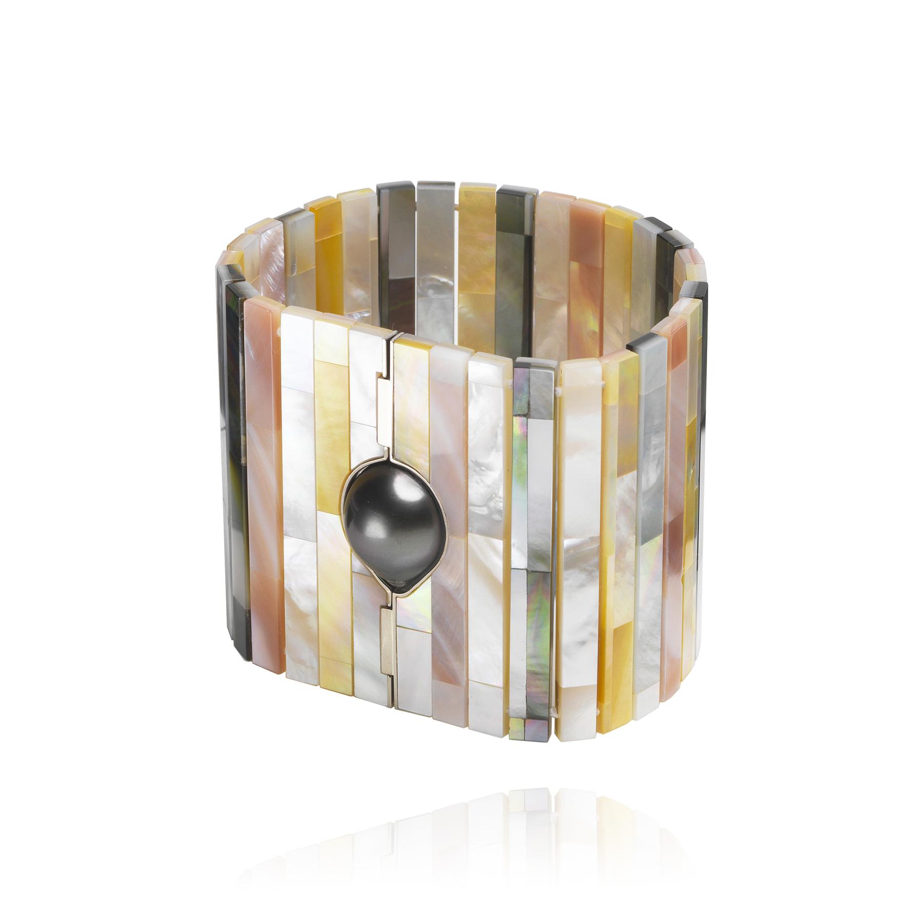 Tiles MOP Bracelet (Image Courtesy of Melanie Georgacopoulos)