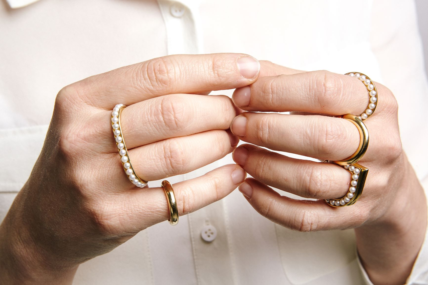 Essence Rings, (Image Courtesy of Melanie Georgacopoulos)