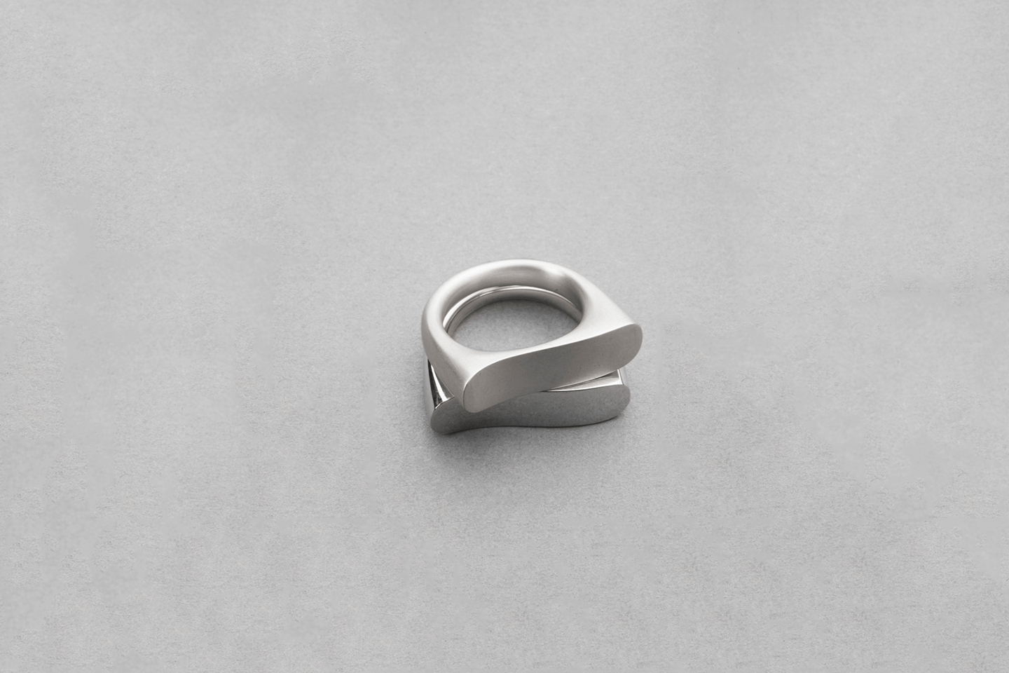 Love Distance Rings in Sterling Silver. Image Courtesy of J Rabun