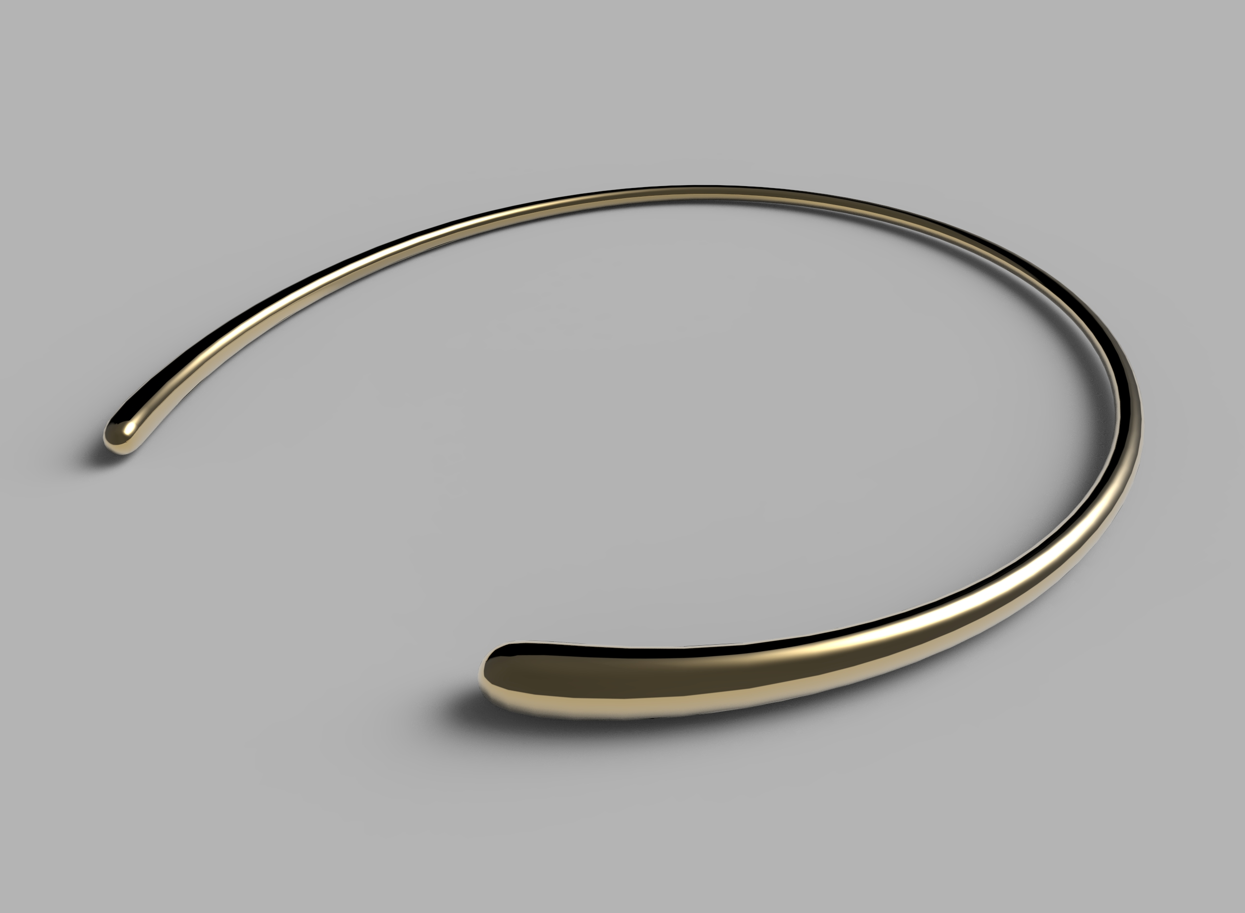 Mercy Bangle in Yellow Gold. Jacqueline Rabun for Georg Jensen. Image Courtesy of J Rabun