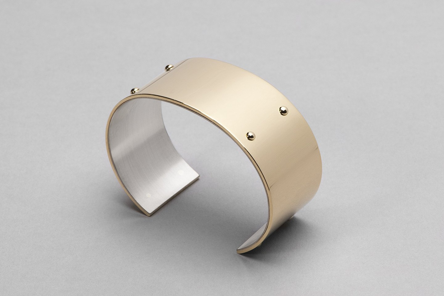 Wyatt Love Cuff in 18kt Gold. Image Courtesy of J Rabun