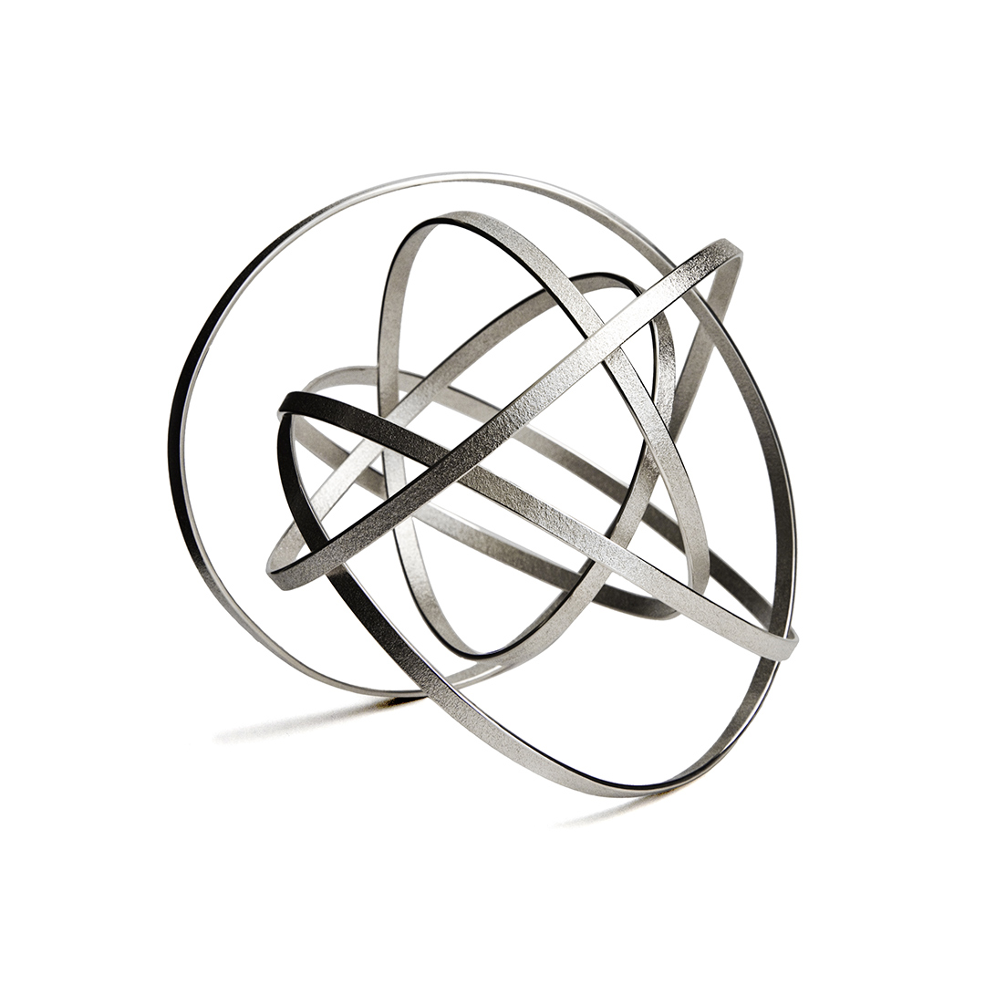 Orbit Bracelet in recycled silver. Image Courtesy of U Decker