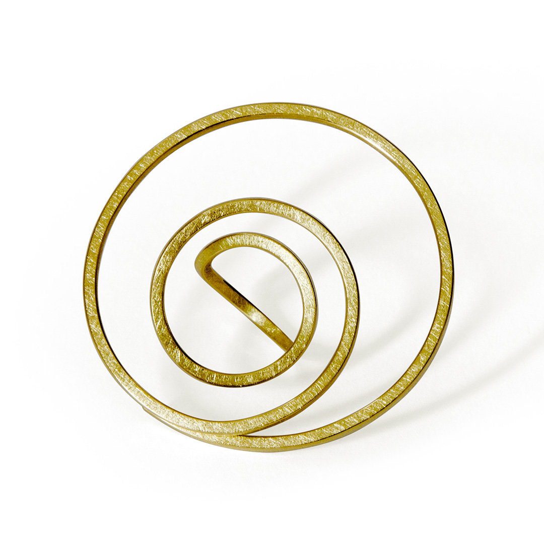 Infinity Spiral Ring in Fairtrade Gold. Image Courtesy of U Decker