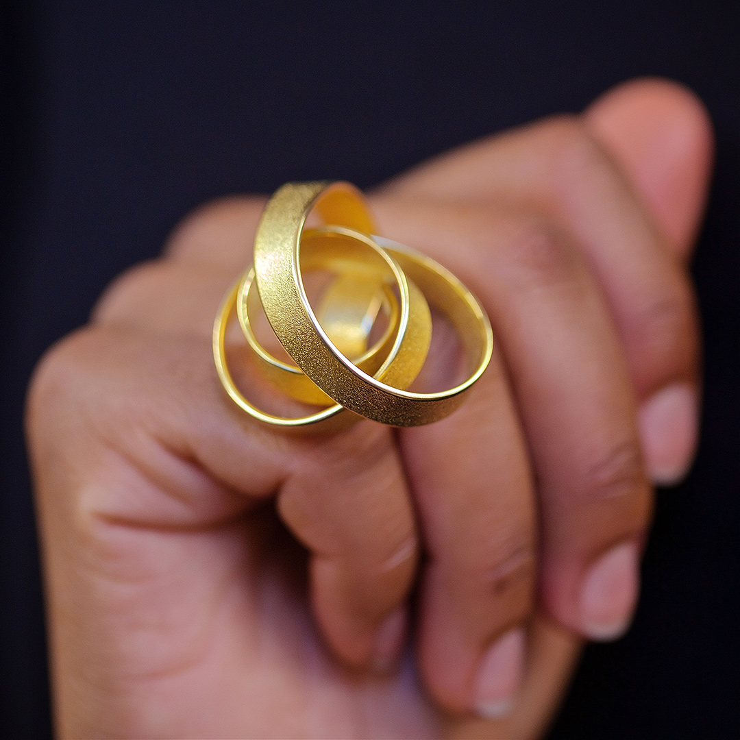 Rose Ring in Fairtrade Gold. Image: Jamie Trounce