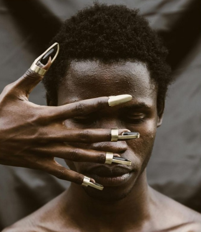 Kidole Kofia (finger hats) in Brass. Photo Courtesy of Theresia Kyalo