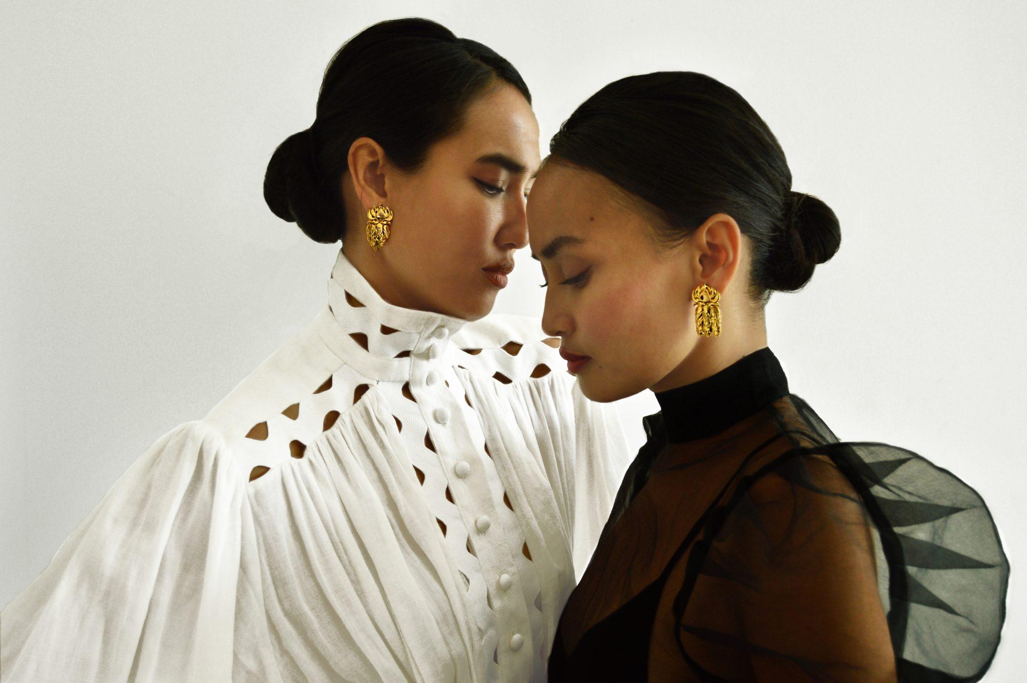 Eyen and Edo Chorm wear the Phkachhouck 1.0 and 2.0 Image Courtesy of EdoEyen