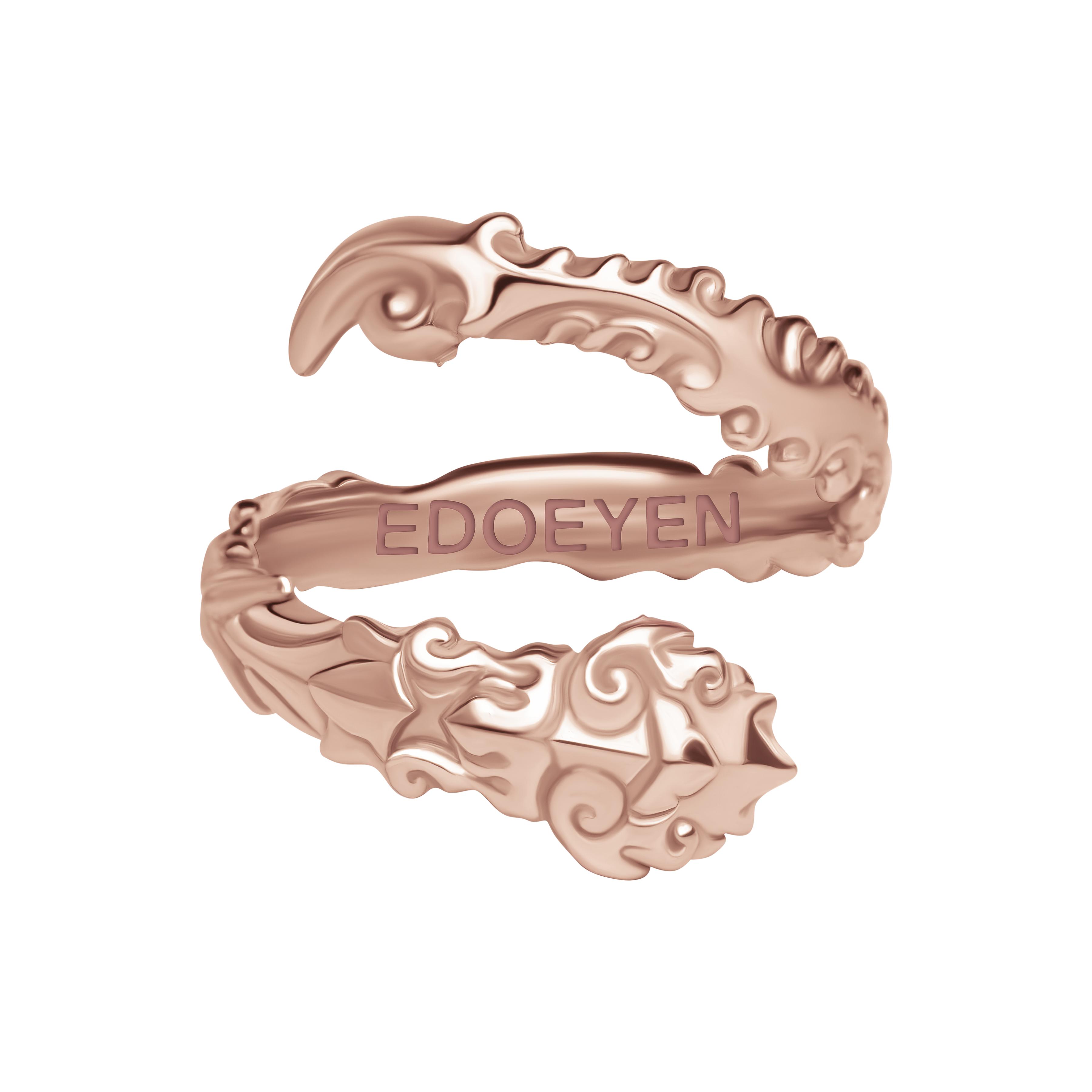 Aroubei Ring in 18kt Rose Gold, Image Courtesy of EdoEyen